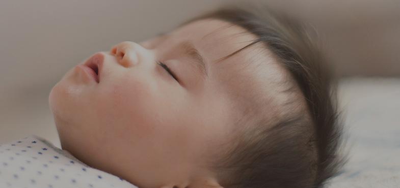 Sovande bebis